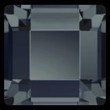 Swarovski Flat Backs Square 4mm Graphite 12pcs (26)_