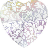 Swarovski Flat Backs White Patina Heart 6mm 6pcs (37)_