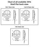 Swarovski 2856 Skull Crystal AB 3pcs (77)_