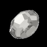 Swarovski Rose Flat Backs Crystal Silver Shade SS3 70pcs (90)_