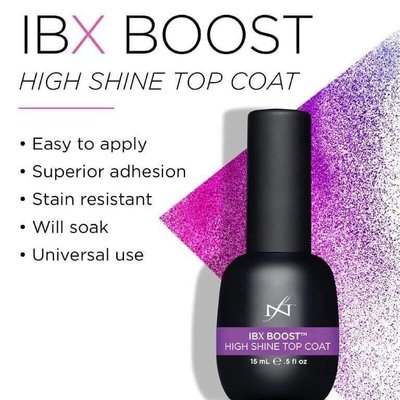 Famous Names - IBX BOOST High Shine Top Coat 15ml