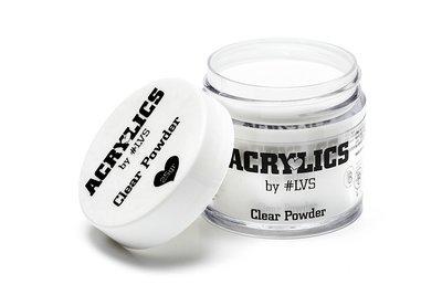Acrylic Powder Clear by #LVS 25gram