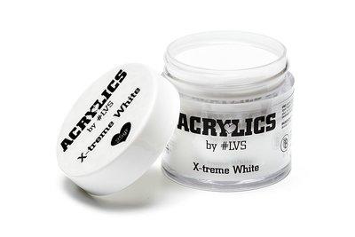 Acrylic Powder X-treme White by #LVS 50gram