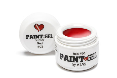 Paint Gel by #LVS | Red 03 5gr