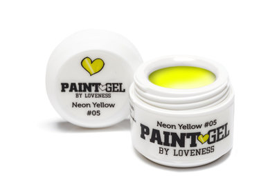 Paint Gel by #LVS | Neon Yellow 05 5gr