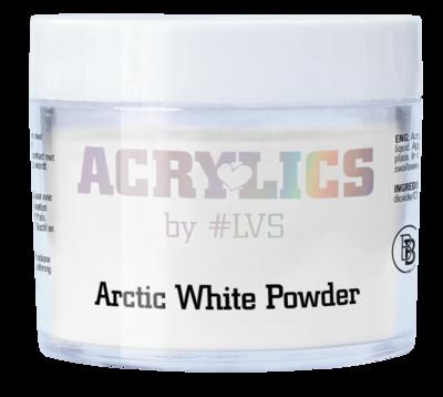 Acrylic Powder Arctic White by #LVS
