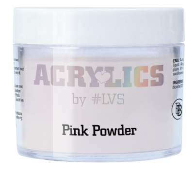 Acrylic Powder pink by #LVS