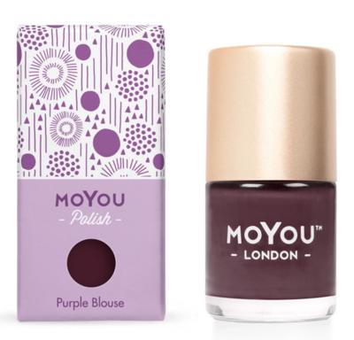 MoYou London | Purple Blouse