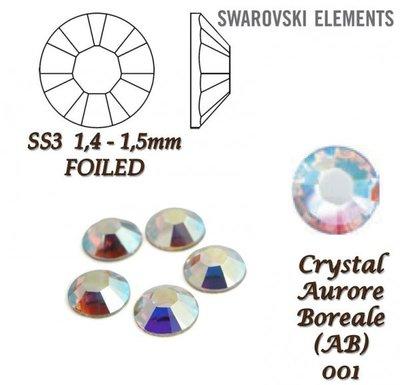 Swarovski Aurore Boreale SS3 6pcs (84)