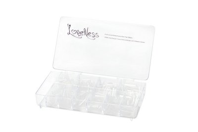 LoveNess | Perfect Curve Clear Tips 500pcs