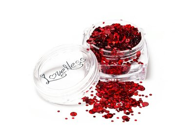 LoveNess   Dots Holo Red