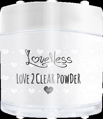 Acrylic Powder Clear by #LVS 100gram