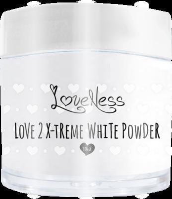 Acrylic Powder X-treme White by #LVS 100gram