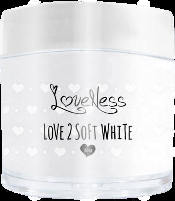 Acrylic Powder Soft White by #LVS 100gram