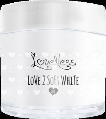Acrylic Powder Soft White by #LVS 25gram