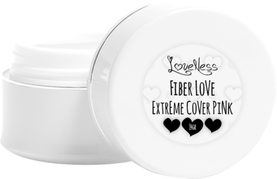 LoveNess   Fiber Love Extreme Cover Pink 7gr