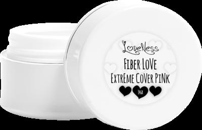 LoveNess   Fiber Love Extreme Cover Pink 45gr