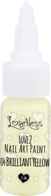 LoveNess | Love 2 Nail Art Paint Brilliant Yellow 004