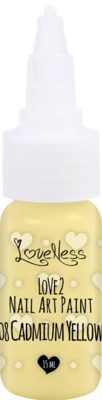 LoveNess | Love 2 Nail Art Paint Cadium Yellow 008