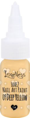 LoveNess | Love 2 Nail Art Paint Deep Yellow 009