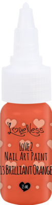 LoveNess | Love 2 Nail Art Paint Brilliant Orange 013