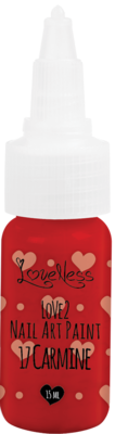 LoveNess | Love 2 Nail Art Paint Carmine 017