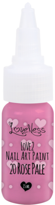 LoveNess | Love 2 Nail Art Paint Rose Pale 020