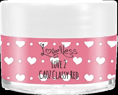LoveNess | CA07 Classy Red 7g