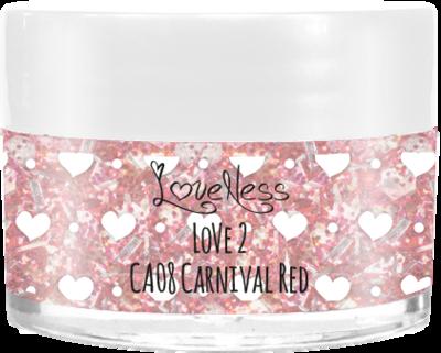 LoveNess | CA08 Carnival Red 7g