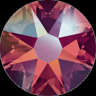 Swarovski Xirius Rose Light Siam Shimmer SS16 36pcs (86)