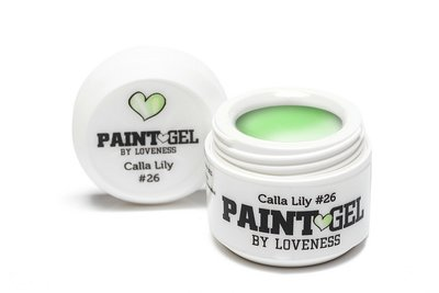 Paint Gel by #LVS | Paint Gel Calla Lily 26 5gr