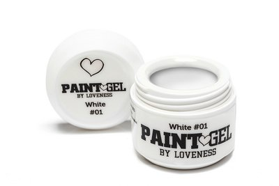 Paint Gel by #LVS | White 01 5gr