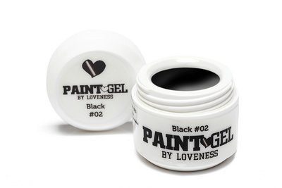 Paint Gel by #LVS | Black 02 5gr