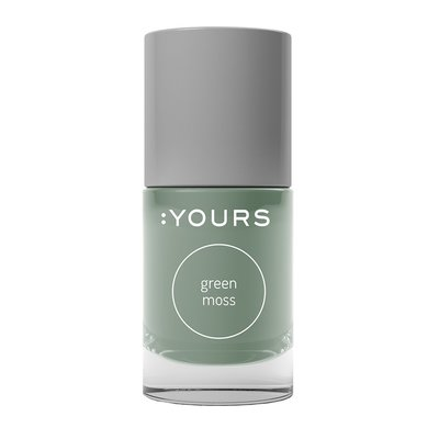 :YOURS Stamping Polish | Green Moss 10ml