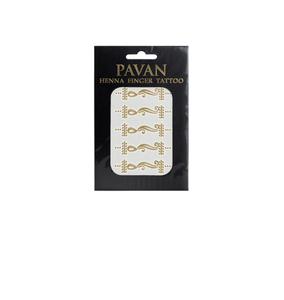 Pavan Henna   Finger Tattoo   Design 7G