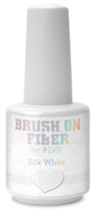 Brush On Fiber by #LVS | Silk White 15ml