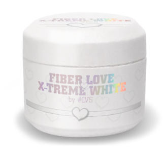 Fiber Love by #LVS | X-Treme White