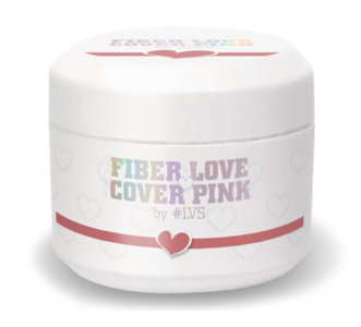 Fiber Love by #LVS | Cover Pink