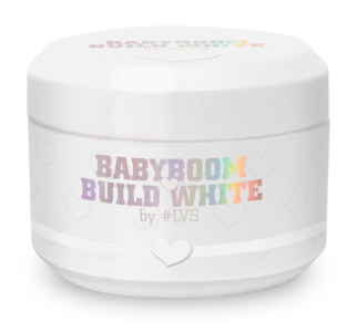 Build by #LVS | Babyboom White 50ml