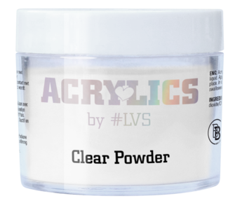 Acrylic Powder Clear by #LVS