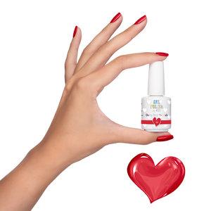 Gel Polish by #LVS | 198 Cherry Berry Me Much 15ml