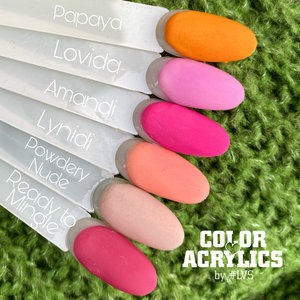 Color Acrylics by #LVS | Kit 1 6pcs.