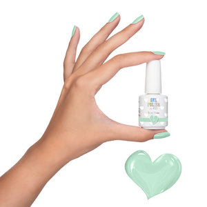 Gel Polish by #LVS | 068 Pastel Green 15 ml