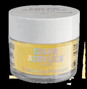Color Acrylics by #LVS | CA47 Sparkling Mustard 7g