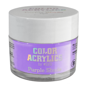 Color Acrylics by #LVS | CA76 Purple Shade 7g