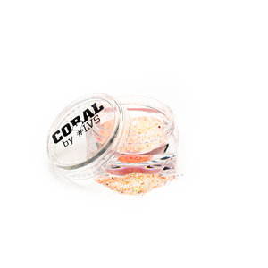 Coral Glitters by #LVS