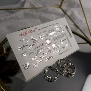 Foil Colour Silver 24 by #LVS