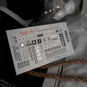 Foil Colour Silver 28 by #LVS