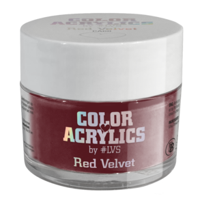 Color Acrylics by #LVS   CA68 Red Velvet 7g