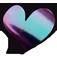 Loveness   Quartz Violet/Green Pigment 1gr